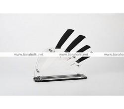 Набор керамических ножей на подставке MB-619