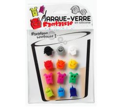 Маркеры для бокалов Мarque verre12шт