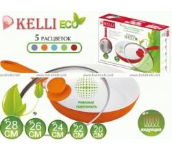 Керамическая сковорода KELLI (22см) KL-14022